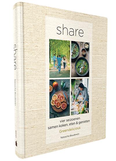 Nieuwste kookboek: Share